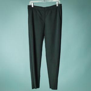 J Jill Size 10 Black Ponte Slim Leg Leggings